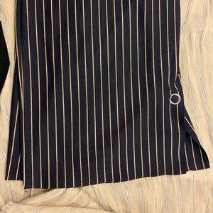 Zara Pants - Striped dress pants